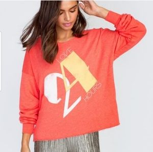 NWT WILDFOX Love 24 Hours Sweatshirt